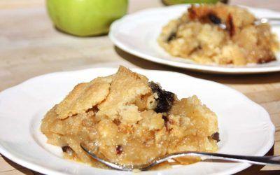 Apple Crumble o Crumble de Manzana