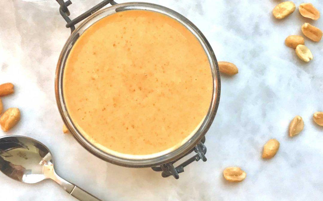 Crema de Cacahuete Casera